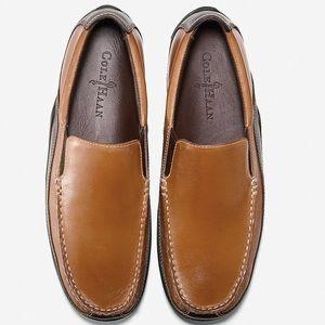 Cole Haan Tucker Venetian slip-on loafer softsuede